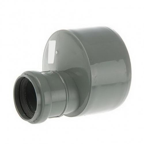 Переход эксцентрический 110х50  для внутренней канализации
