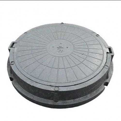 Люк канализационный полимерный песчаный ТВК (до 7 тонн)