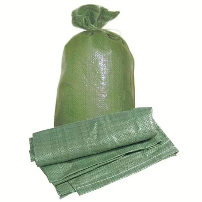 Мешок для строит мусора зелен