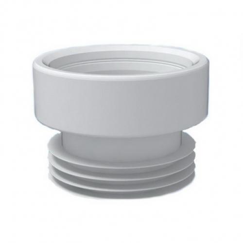 Муфта Ани прямая, унитаз, резина W0210