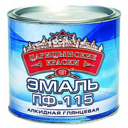 """Эмаль ПФ-115 Белая 2,7 кг """"Царицынские краски"""""""