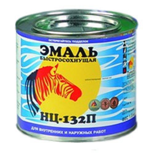Эмаль НЦ-132 коричневый 0,8 кг Литэкс