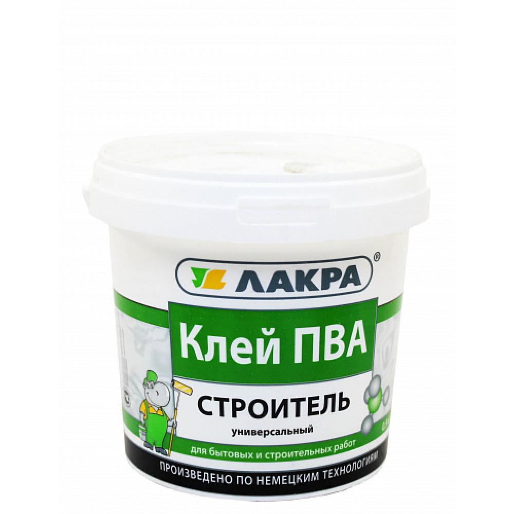 """Клей ПВА """"СТРОИТЕЛЬ"""" унив 0,9кг"""