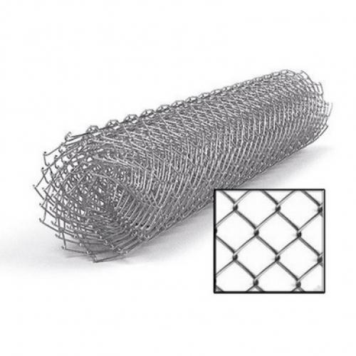 Сетка рабица яч 50х45 мм пр. 1,6 мм h=1,5м